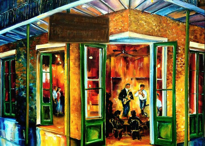 French Quarter Doors Greeting Cards