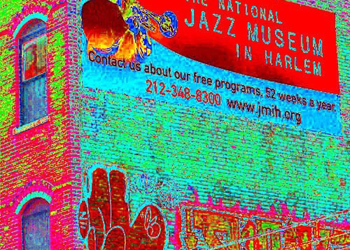 Harlem Greeting Card featuring the photograph Jazz Museum by Steven Huszar