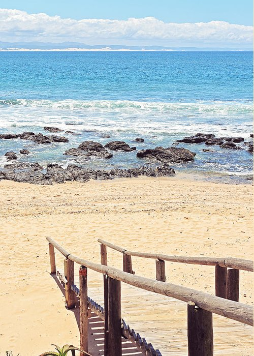 Africa Greeting Card featuring the photograph Jeffreys Bay by Benjamin Matthijs