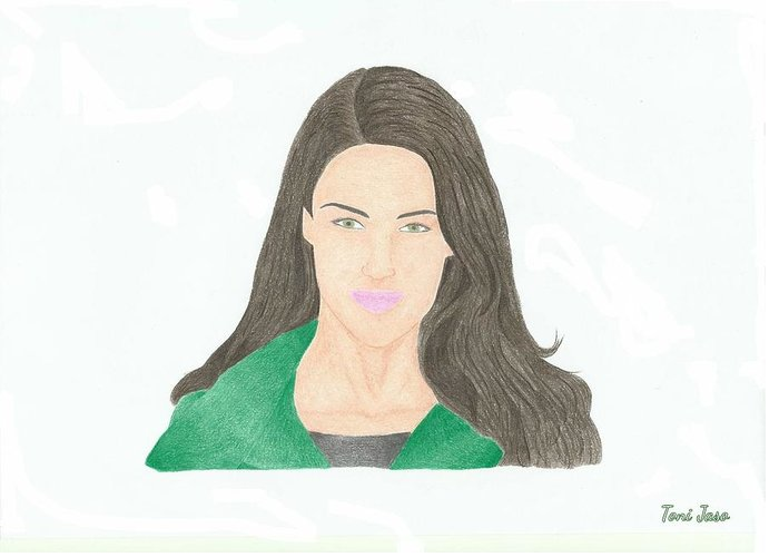 Jessica Lowndes Greeting Cards