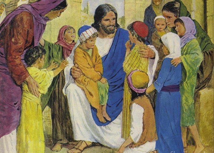 Gospel Of Matthew Greeting Cards