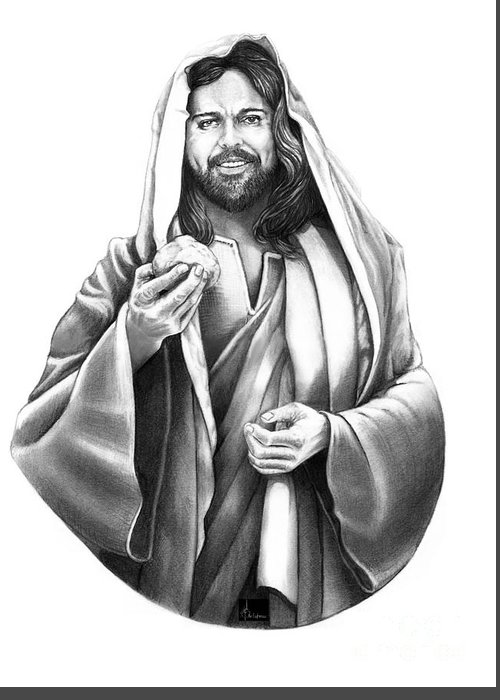 Pencil Drawing Of Jesus Art | Fine Art America