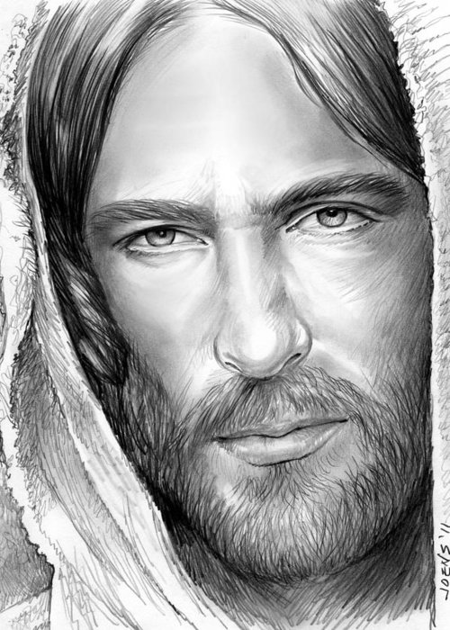 Christian Drawings Greeting Cards