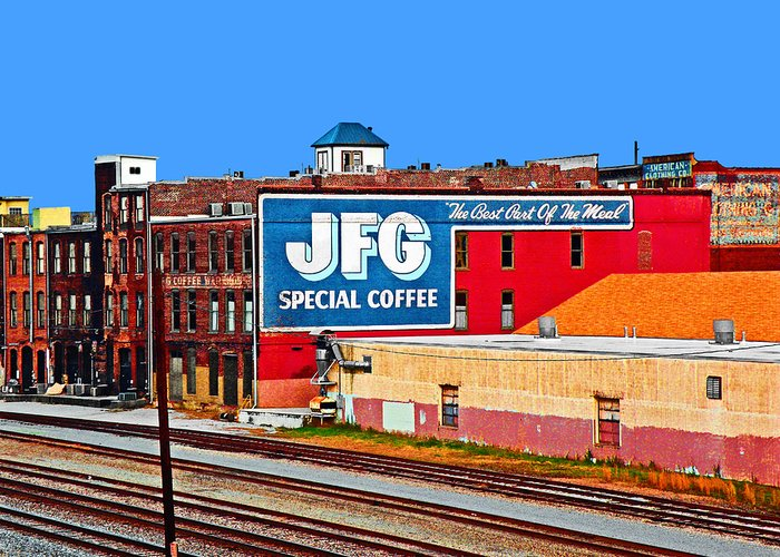 Coffee Greeting Card featuring the photograph Jfg Coffee by Steven Michael
