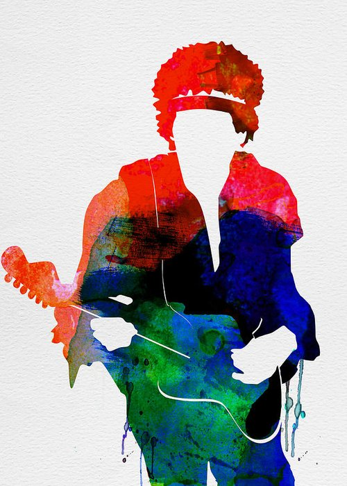 Jimi Hendrix Greeting Cards