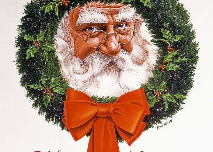 Claus Greeting Cards