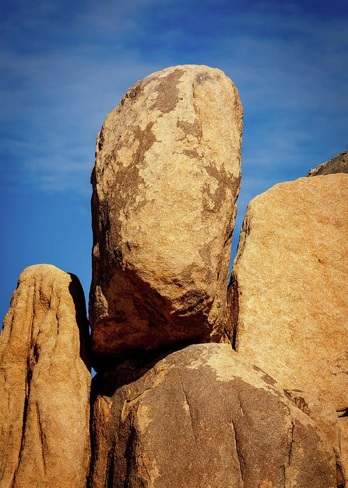 Rocks Greeting Card featuring the photograph Joshua Tree Np 1 by Mike Penney