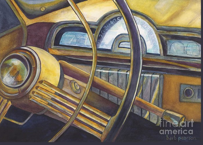 Antique Cars Greeting Cards