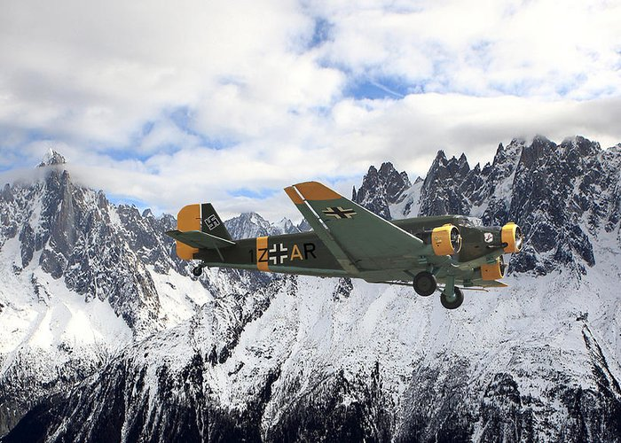 Ju 52 Greeting Cards