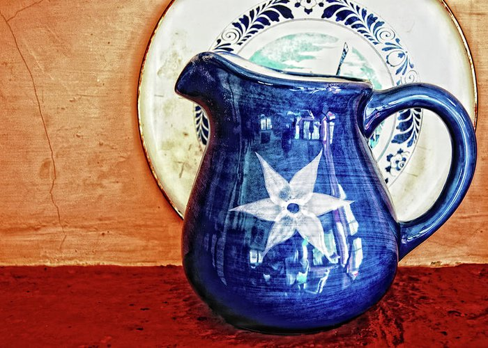 Jug Greeting Card featuring the photograph Jug by Charuhas Images