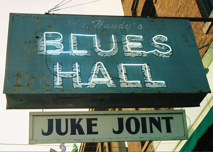 Blues Greeting Card featuring the photograph Juke Joint by Jame Hayes
