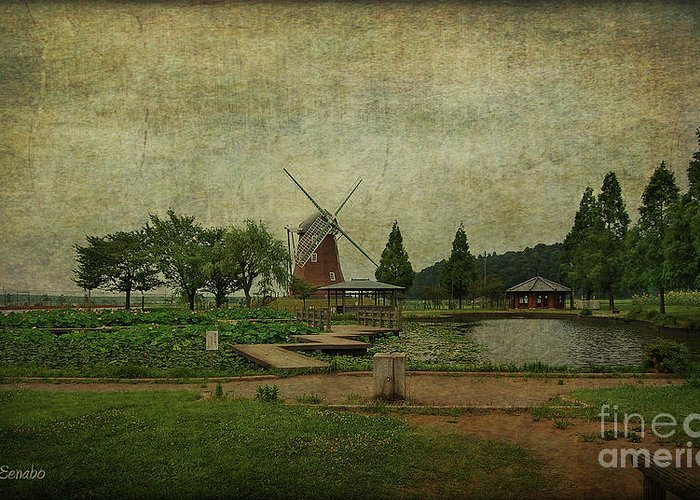 Windmill Greeting Card featuring the photograph Just Like Old Times by Eena Bo