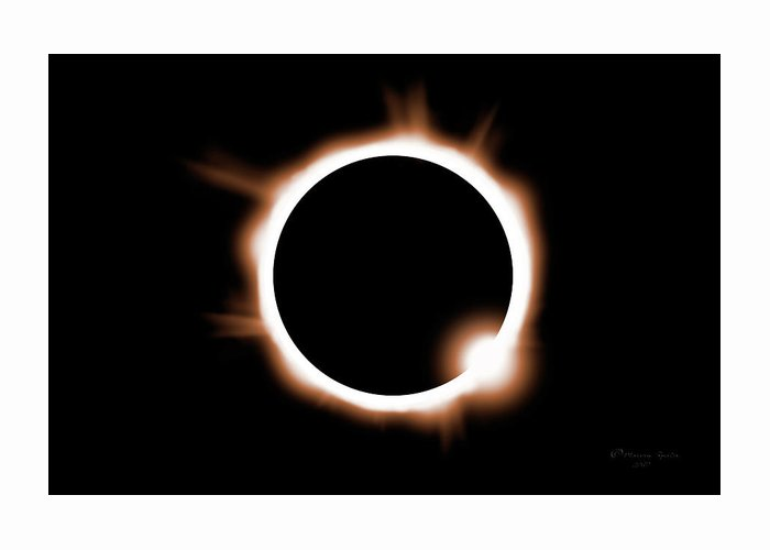 Solar Eclipse Photographs Greeting Cards