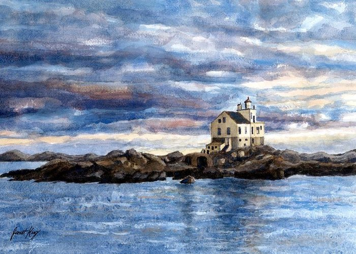 Katland Lighthouse Greeting Cards
