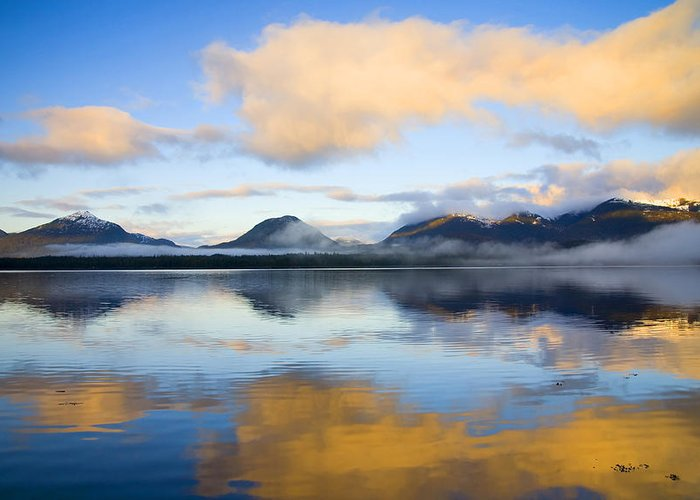 Ketchikan Greeting Card featuring the photograph Ketchikan Sunrise by Mike Dawson