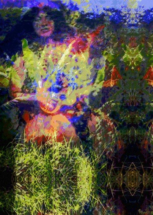 Rainbow Colors Digital Greeting Card featuring the photograph Kihapai O Ekena by Kenneth Grzesik
