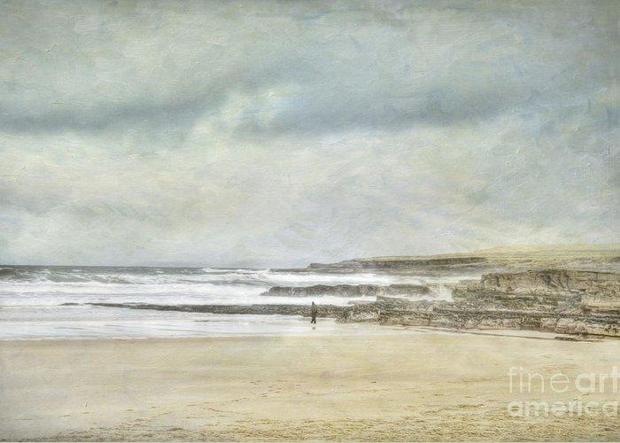 Beach Greeting Card featuring the photograph Kilcummin Back Strand by Marion Galt