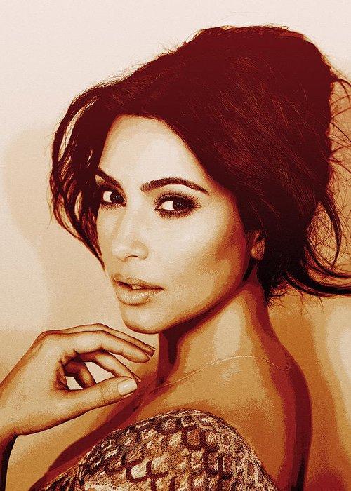 Kim Kardashian Photographs Greeting Cards