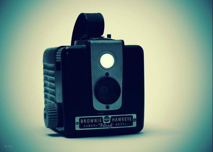 Camera Greeting Card featuring the photograph Kodak Brownie by Bob Orsillo