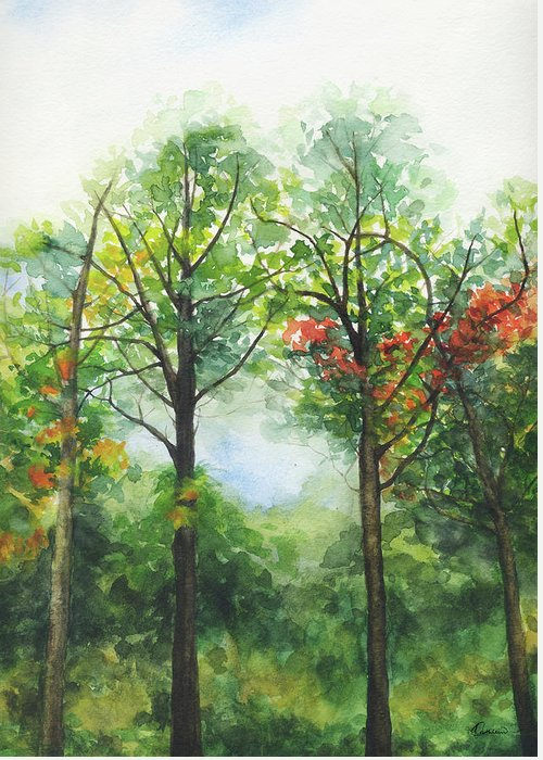 Tsui Paintings Greeting Cards