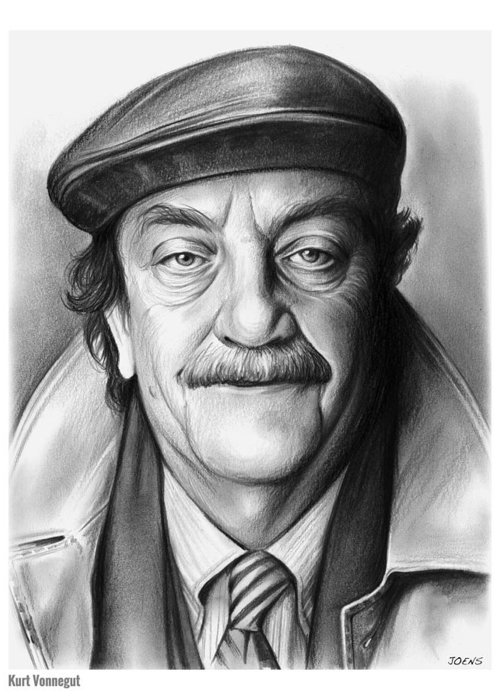 Kurt Vonnegut Greeting Cards