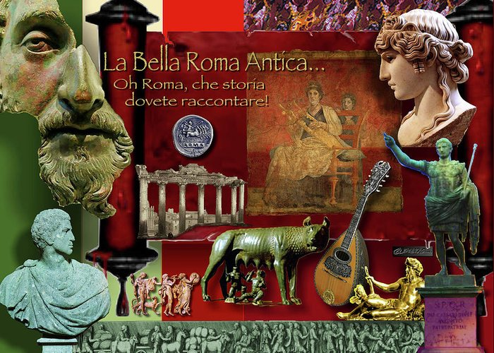Roman Coin Greeting Cards