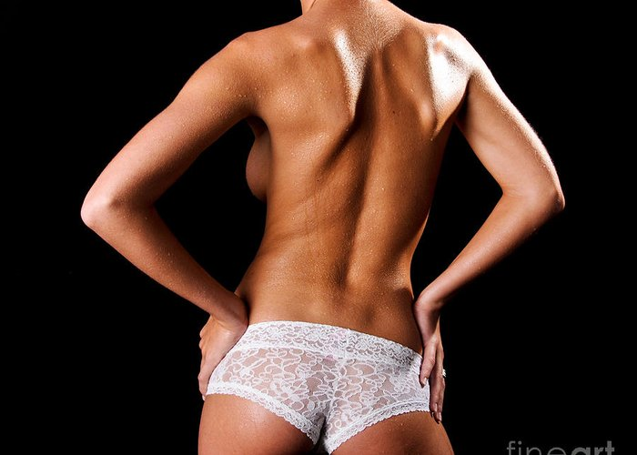 Art Greeting Card featuring the photograph Lace Panties by Jt PhotoDesign
