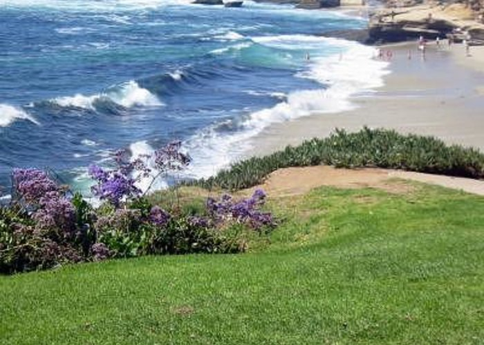 San Diego Greeting Card featuring the photograph Lajolla Shores by Kevin Igo