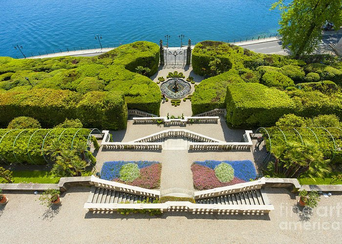 Europe Greeting Card featuring the photograph Lake Como,villa Carlotta, Italy by Marco Arduino
