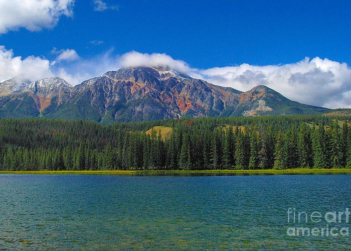 Lake Greeting Card featuring the photograph Lake by Marc Bittan