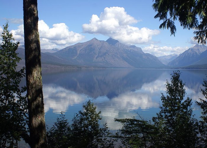 Lake Greeting Card featuring the photograph Lake Mcdonald Glacier National Park by Marty Koch