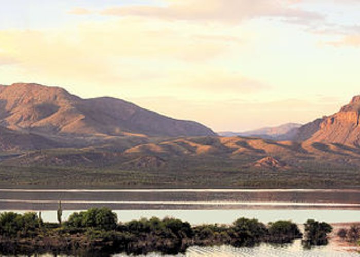Photography Greeting Card featuring the photograph Lake Roosevelt by Sharon Broucek
