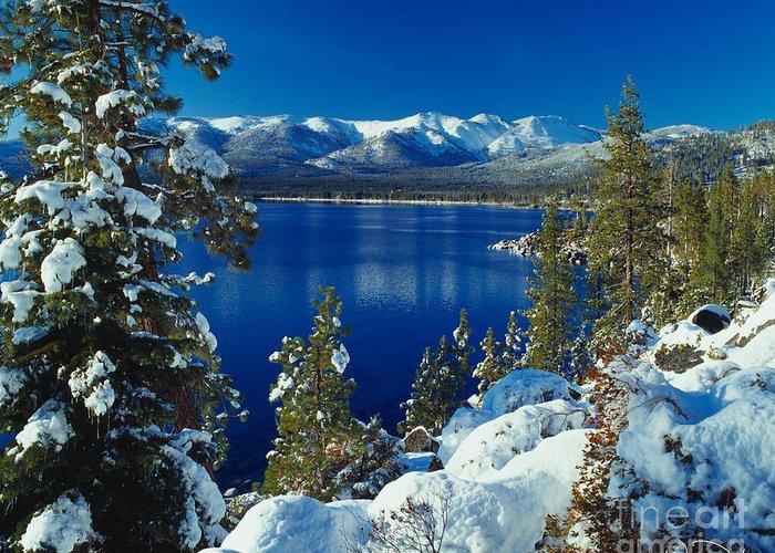 Lake Tahoe Photographs Greeting Cards