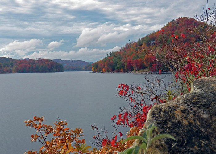 Water Greeting Card featuring the photograph Lakes Perfection by Jennifer Robin