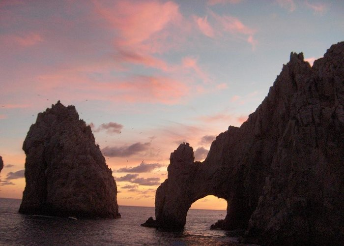 Lands End Greeting Card featuring the photograph Lands End by Janet Hall