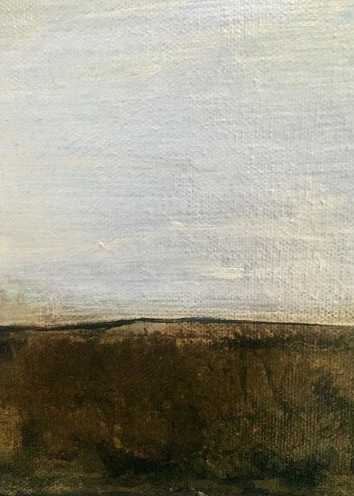 Greeting Card featuring the painting Landscape by Carol Ashton