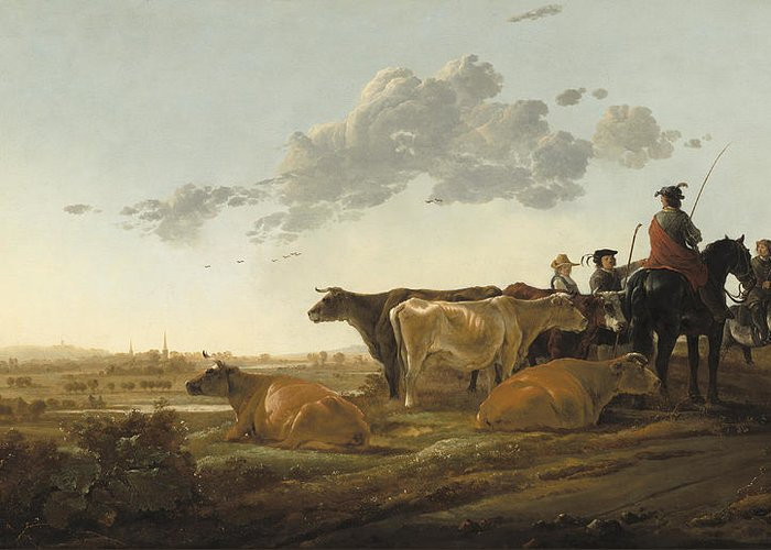 Cuyp Greeting Cards
