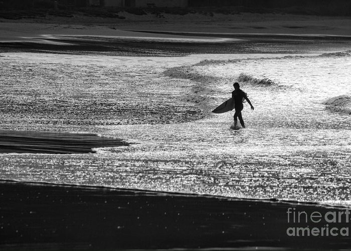 Surfer Greeting Card featuring the photograph Last wave by Sheila Smart Fine Art Photography