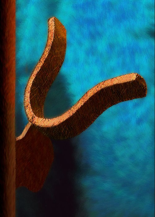 Photography Greeting Card featuring the photograph Latch by Paul Wear