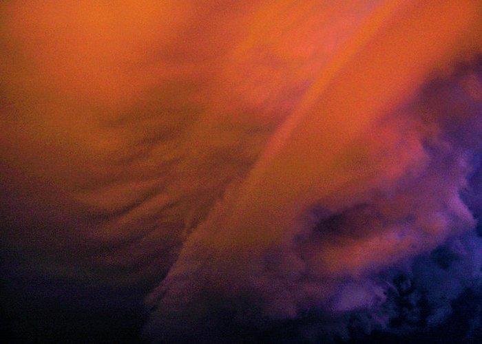 Nebraskasc Greeting Card featuring the photograph Late Night Nebraska Shelf Cloud 009 by NebraskaSC