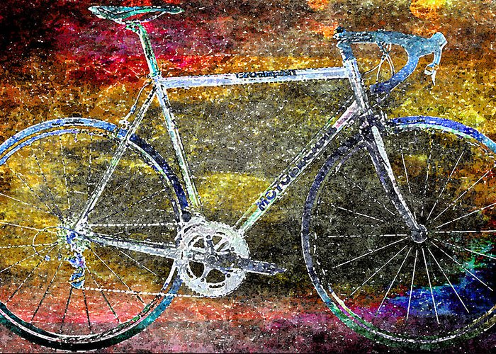 Bicycle Greeting Card featuring the photograph Le Champion by Julie Niemela