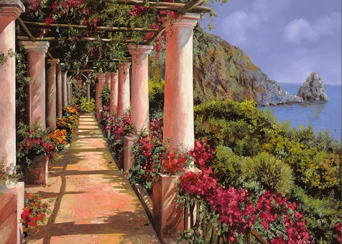 Bougainvillea Greeting Cards