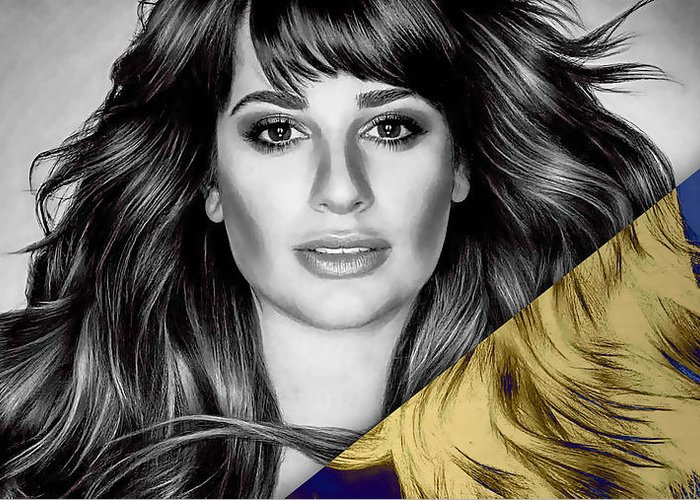 Lea Michele Greeting Cards