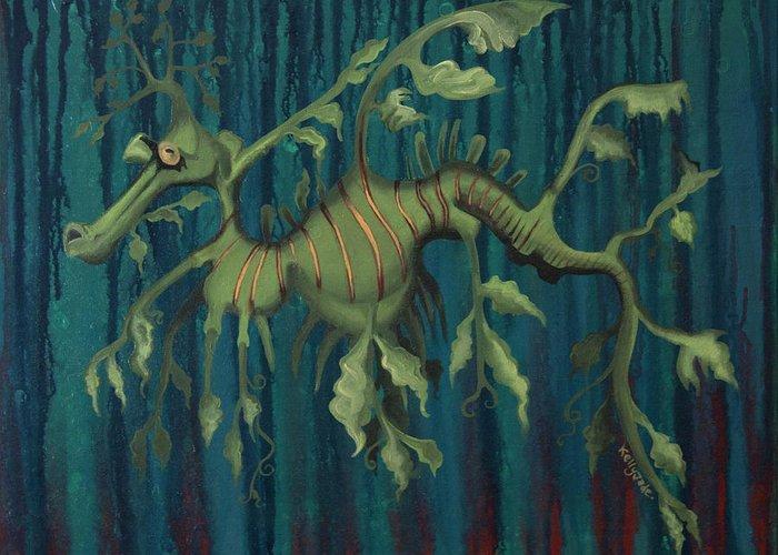 Leafy Sea Dragon Greeting Cards
