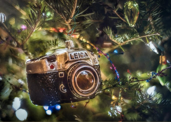Christmas Lights Photographs Greeting Cards