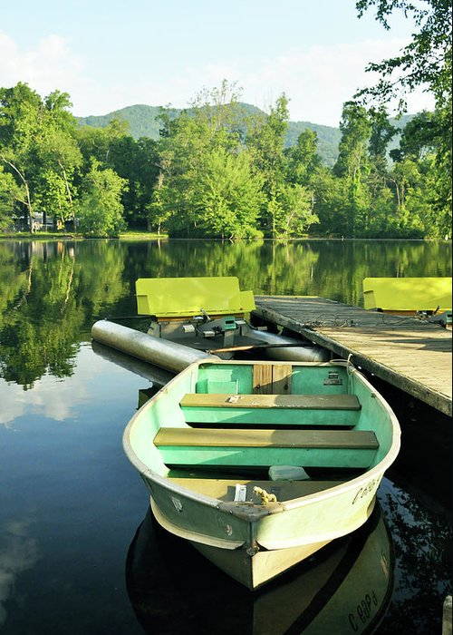 Nature Greeting Card featuring the photograph Leisure Craft by Kay Lovingood