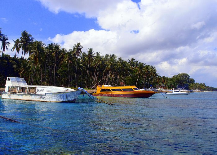 Greeting Card featuring the photograph Lembongan by Todd Hummel