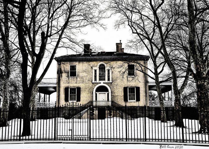 Lemon Hill Greeting Card featuring the photograph Lemon Hill Mansion - Philadelphia by Bill Cannon