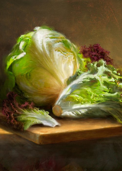 Lettuce Greeting Cards