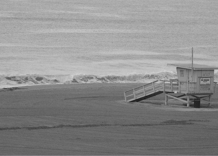 Beaches Greeting Card featuring the photograph Life Guard Stand by Shari Chavira